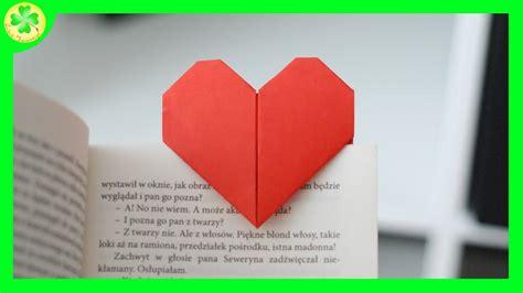 Why Do Do Origami - serce origami zak蛯adka do ksi艱蠑ki origami