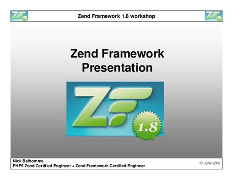 tutorial membuat web dengan zend framework zend framework 1 8 workshop