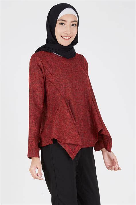 Asiro Sling Bag Maroon Asiro sell top maroon tops hijabenka