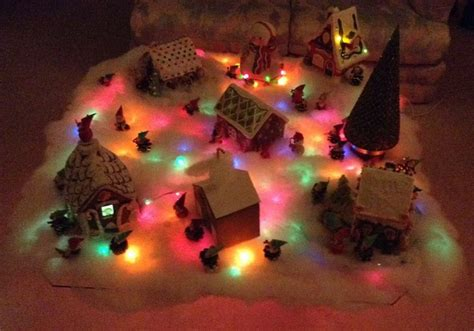 christmas village snow blankets with lights pin by linda alsdorf on christmas lights pinterest