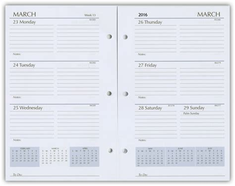 printable calendar refills 2015 organizer refill pages 2018 organizer refills