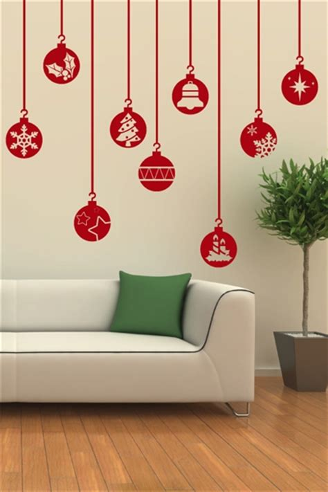 Car Wall Stickers For Nursery festive ornaments wall decal christmas wall stickers