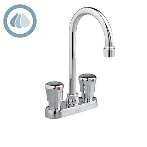 american standard 1340 265 metering centerset gooseneck faucet