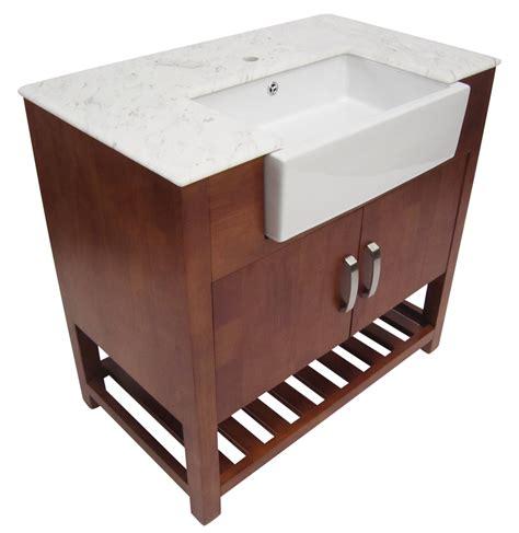 Golden Oak Kitchen Cabinets by Alfi 36 Inch Golden Oak Single Sink Bathroom Vanity Marble Top
