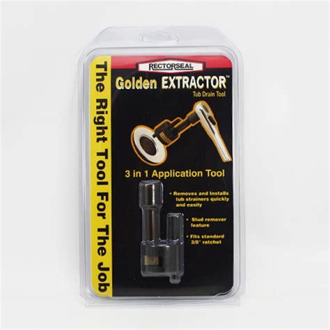 rectorseal 97258 golden extractor tub drain tool ebay