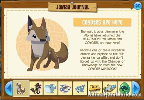 list of all land animals in animal jam a new canidae family member joins the pack in jamaa