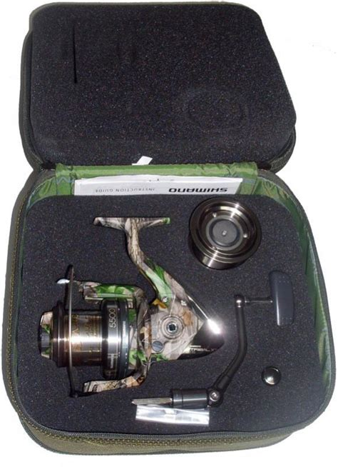 Shimano Camo By And1 One shimano tribal 5500 xta camo reel ebay