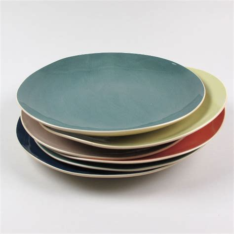 Handmade Plates - dinner plate by brickett davda handmade in east sussex