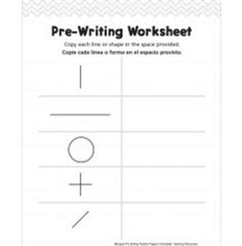 Pre Writing Strokes Worksheets by Worksheets And Water On