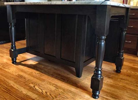 kitchen island with posts concord island post supports new kitchen island design