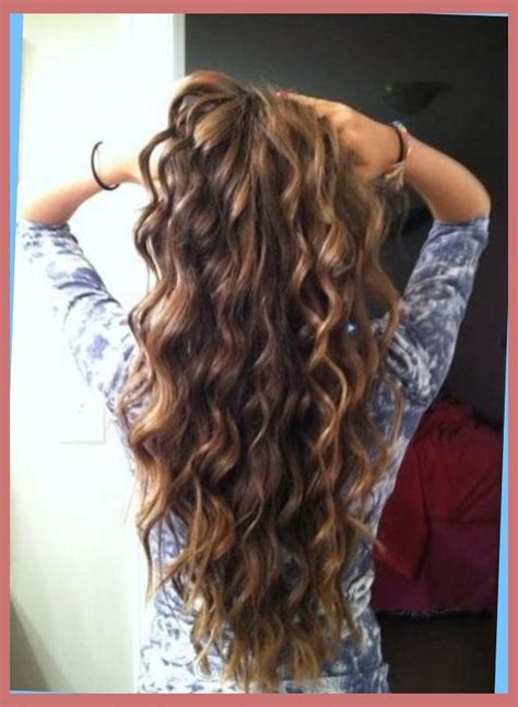 loose curl perm long hair loose spiral perms for long hair pictures right hs