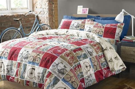bicycle bedding bicycle duvet cover and pillow case 163 12 very hotukdeals