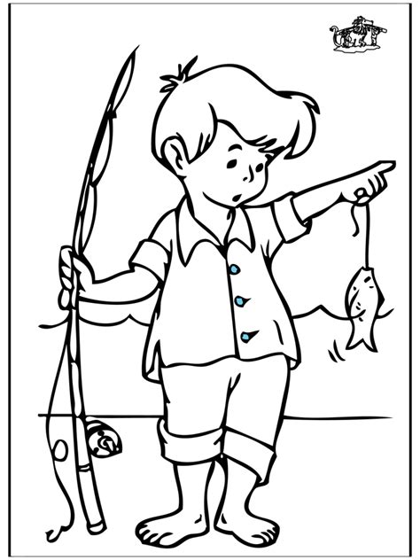 Fishing Pole Coloring Pages Coloring Pages Fishing Pole Coloring Page