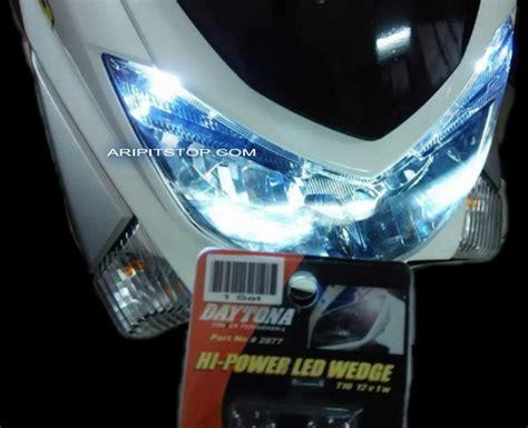 Cover Sing Nmax lu led dipasang di yamaha nmax boleh juga aripitstop