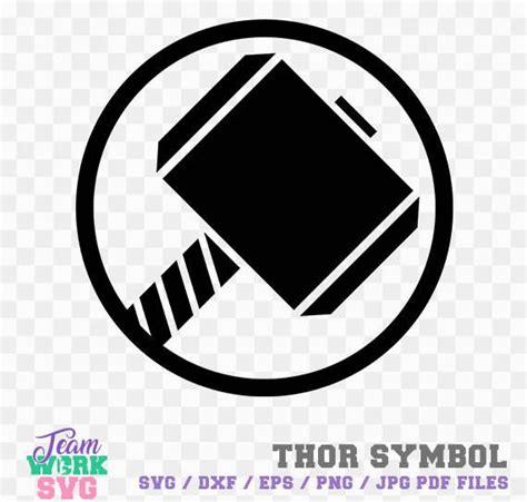 thor symbol hero logo thor symbol decal png dxf jpg eps