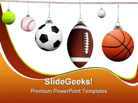templates for powerpoint sports balls sports powerpoint backgrounds and templates 1210