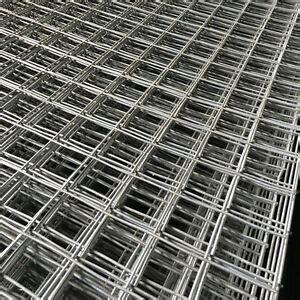 ft galvanised wire mesh panel welded steel sheet metal