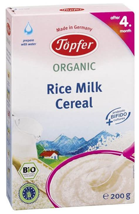 Topfer My Muesli Cereal topfer rice milk cereal products topfer rice milk