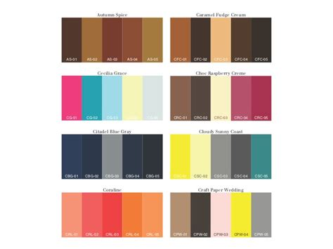 Best Home Interior Color Combinations chereden creative fall winter 2011 color palettes