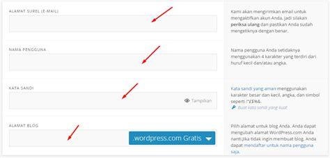 cara membuat wordpress yang benar cara membuat wordpress gratis