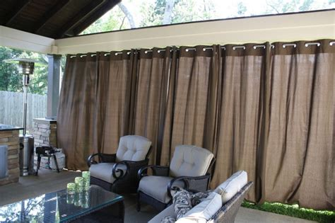 how to hang patio curtains hanging outdoor curtains for the home pinterest