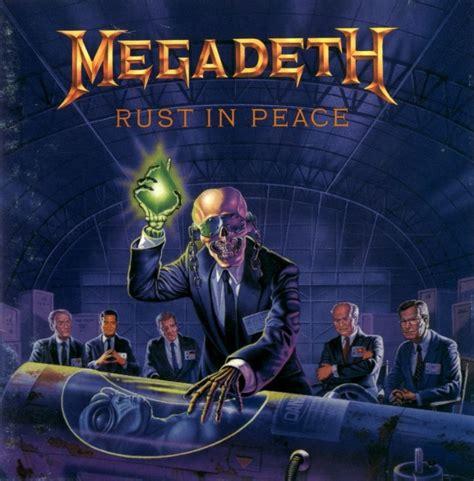 best megadeth album megadeth quot rust in peace quot agobs megadeth albums metal