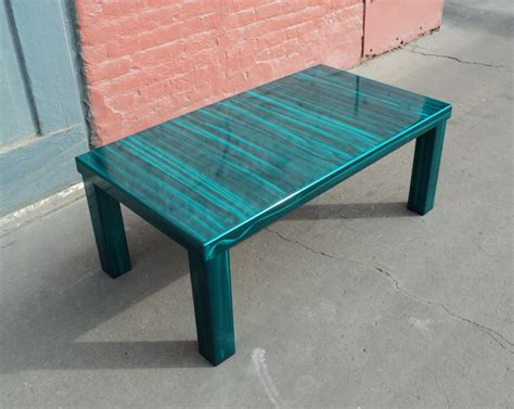 Teal Coffee Table Contemporary Teal Coffee Table Coffee Tables Denver By Coresthetic