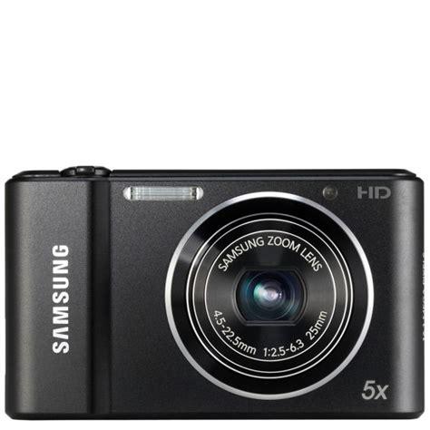 Kamera Samsung Hd 5x Samsung St68 Digital Black 16mp 5x Optical 2 7 Inch Lcd Electronics Thehut