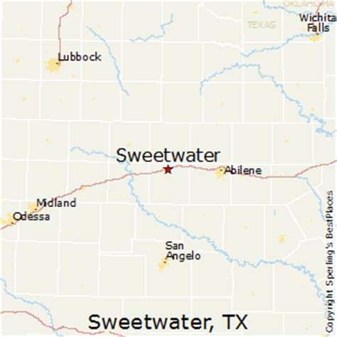 sweetwater texas map best places to live in sweetwater texas