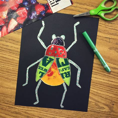 project collage template design projects bug magazine collage projects for