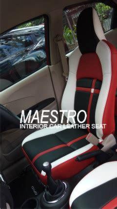 Cover Jok Mobil Honda Brio interior mobil maestro laman 2