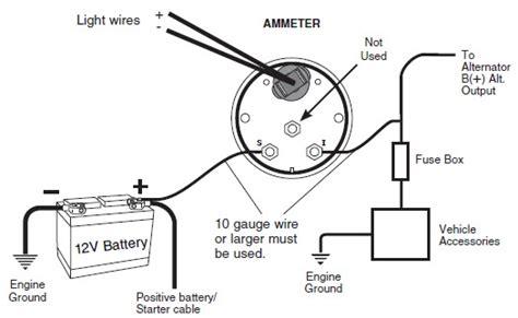 install auto meter voltmeter gauge electrical