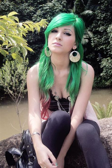 green hair color 15 awesome green hairstyles color inspiration strayhair
