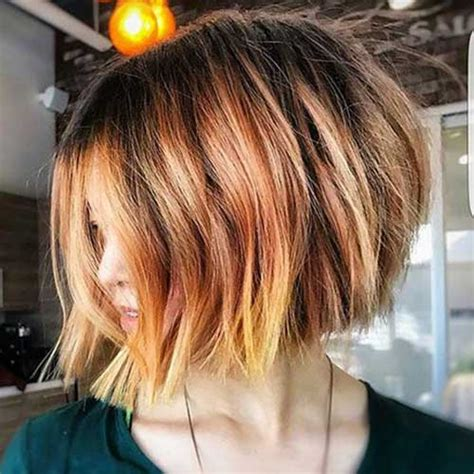 graduated layered blunt cut hairstyle amazing graduated bob haircuts for ladies bob hairstyles