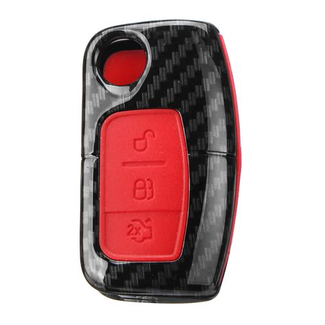 keyrings novelty car key case bag protector cover remote control fob  ford fiesta focus