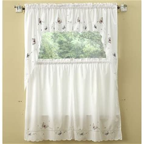 butterfly kitchen curtains monarch butterflies kitchen curtain pair of swags 11 79