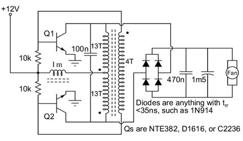 Trafo 5a Ct 32v rangkaian converter 12v dc ke 24v dc jasa service elektronik