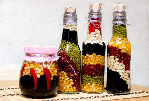 decorating glass bottles modern magazin