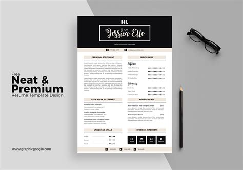 best of pics of free professional resume templates
