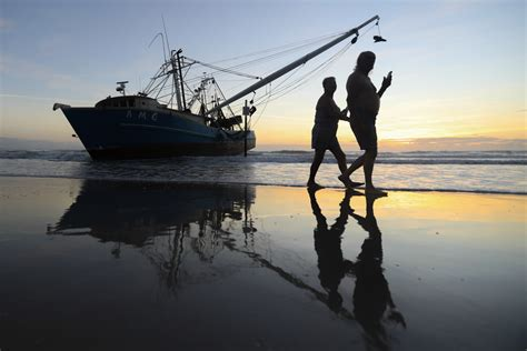 shrimp boat amg shrimping boat rests just feet away from historic ormond