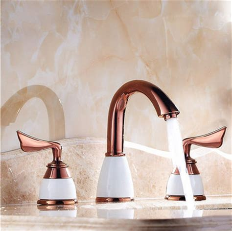 gold bathroom sink taps solid brass kitchen tap with color changing led light t0784 4 t0784 4 163 61 99