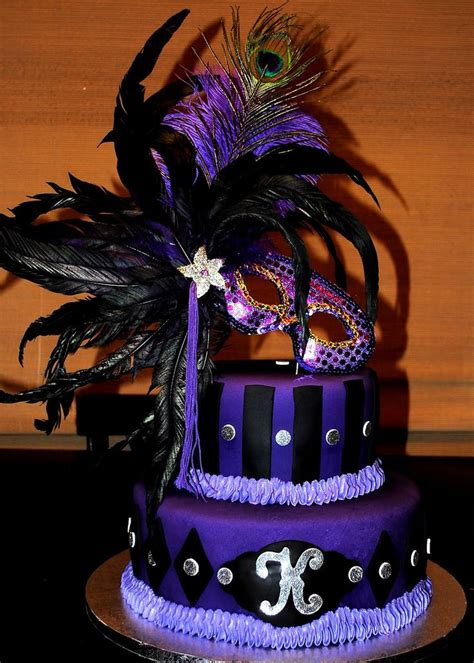 17677 Sweet Feather Top 21 best images about cakes masks masquerades on