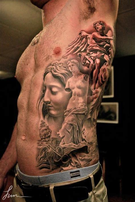 coolest tattoos ever for men rib tattoos for ideas and inspiration for guys