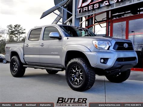 Toyota Tacoma Tires And Rims Toyota Tacoma With 18in Black Rhino Wheels