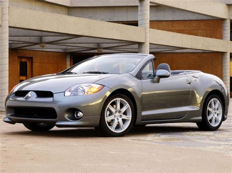 2006 mitsubishi eclipse spyder mitsubishi eclipse technical specifications and fuel economy