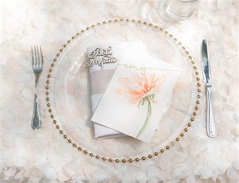 Baby Shower Place Setting Ideas by Floral Chic Outdoor Baby Shower Baby Shower Ideas