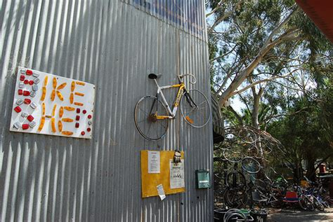 Ceres Bike Shed by Melbourne Bike Fix Skill And Bike Related Social