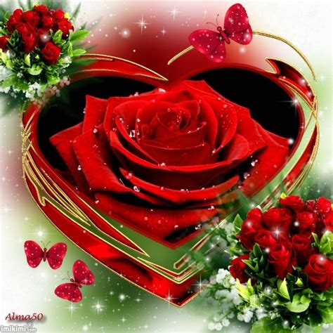 love you heart and roses image gallery love hearts and roses