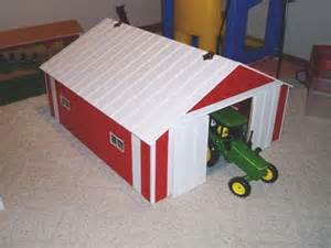 16 X 24 Barn Plans Machine Shed Murfcraft Toy Barns