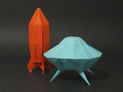Origami Space - origami walrus and elephant seal zing